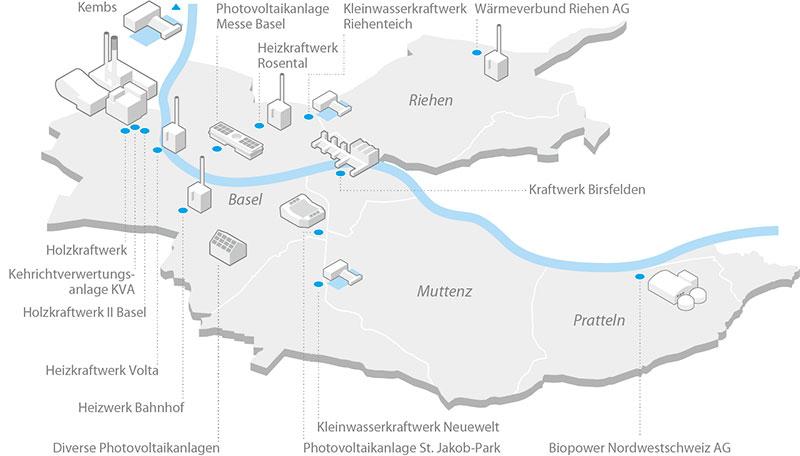 IWB-Kraftwerke-Basel